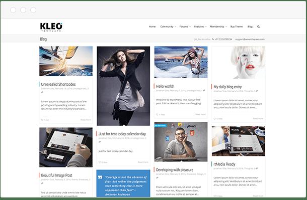 Kleo webpage