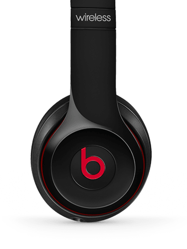 Image of black beats headphones