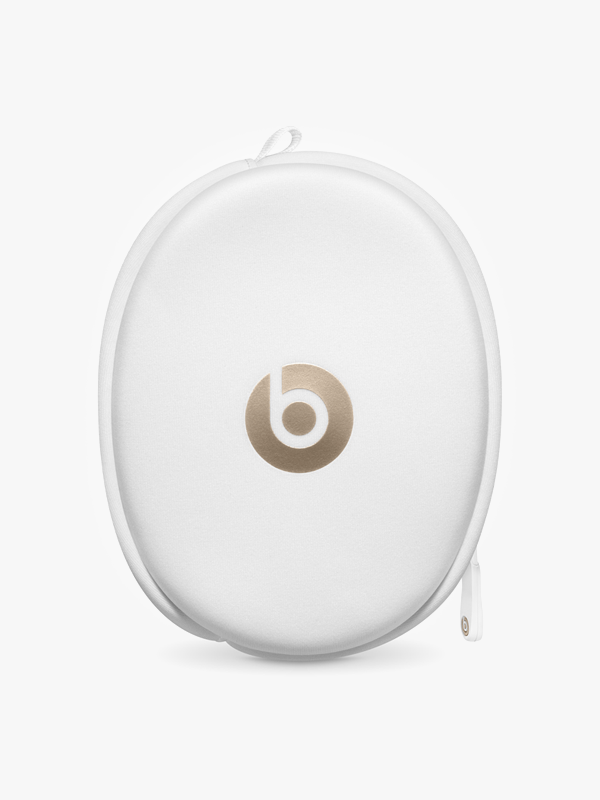 Image of white beats headphones case