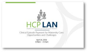 CEP for Maternity Care slide