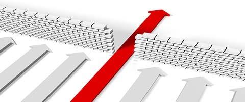 Accelerate/arrow image