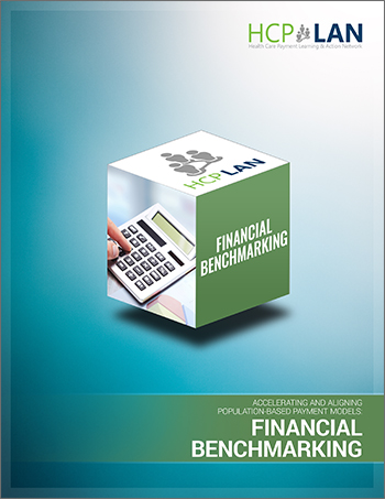 Financial benchmarking cover sheet