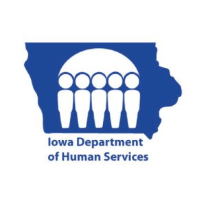 Iowa Department of Human Services logo