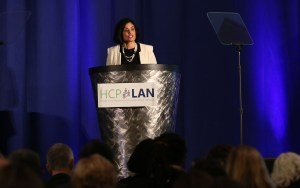 Administrator Seema Verma addresses attendees at the Summit