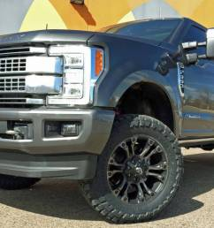 2017 ford f350 super duty readylift leveling kit wth fuel offroad wheels on toyo m t tires build 79447  [ 1200 x 790 Pixel ]
