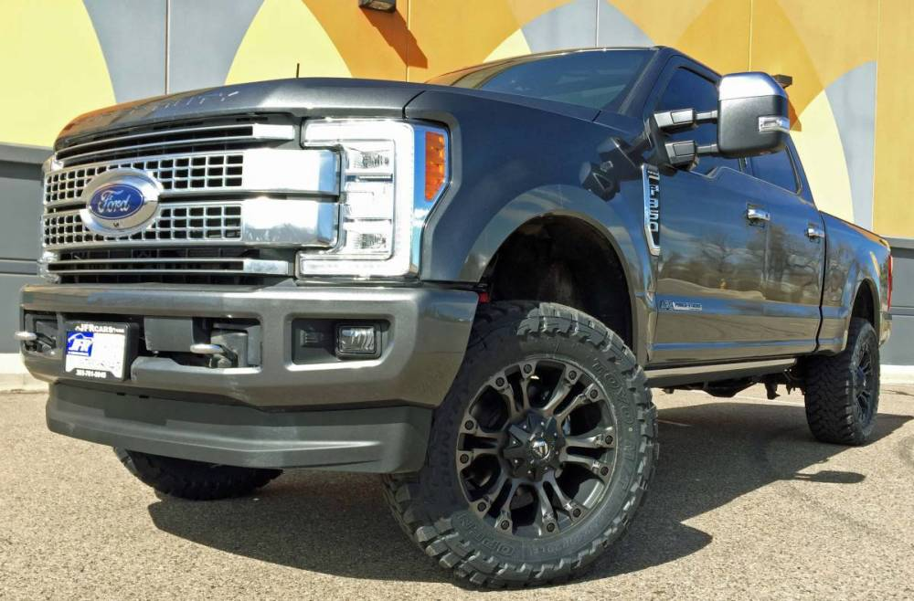 medium resolution of 2017 ford f350 super duty readylift leveling kit wth fuel offroad wheels on toyo m t tires build 79447