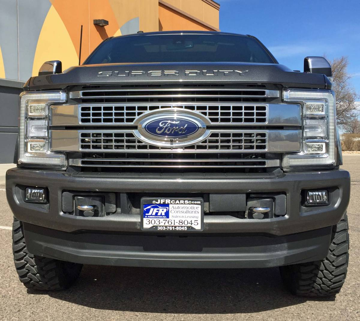 hight resolution of 2017 ford f350 super duty readylift leveling kit wth fuel offroad wheels on toyo m t tires build 79447