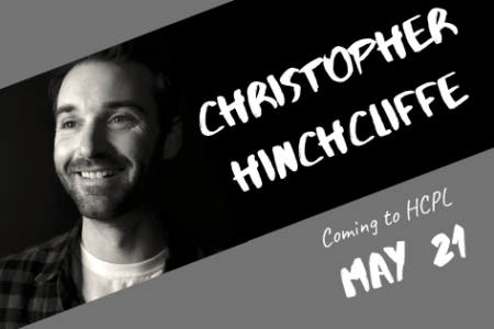 Author Visit: Christopher Hinchcliffe