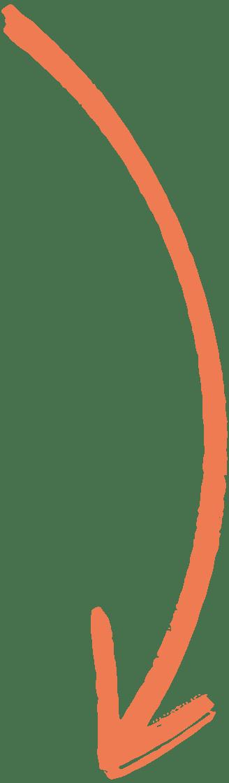Flèche Orange Droite vers le bas