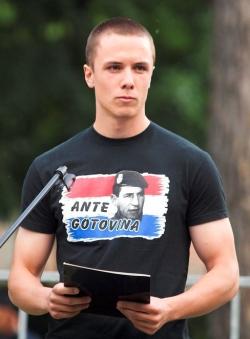 Čelnik mladeži HČSP-a daje podršku Anti Gotovini