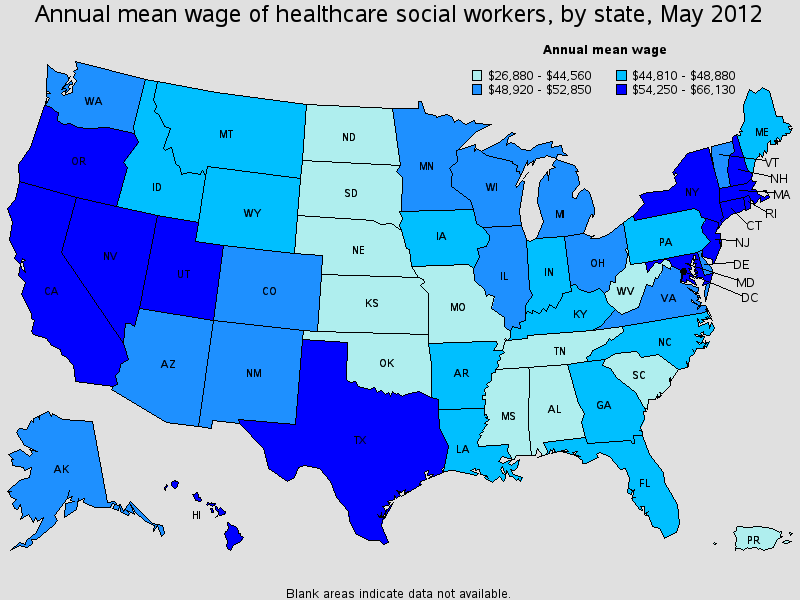 Medical Social Worker Salary State By State