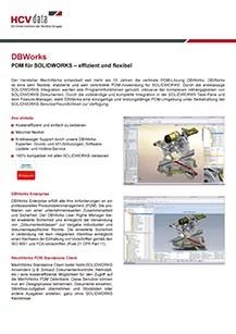 HCV Data DBWorks Datenblatt