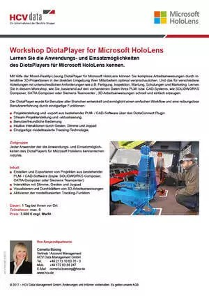 HCV Data Workshop: Microsoft HoloLens & DiotaPlayer
