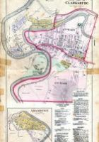 Map of West End of Clarksburg where the parents of Morley Criss resided.