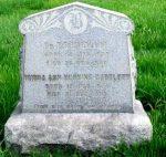 Dr. T. B. Bartlett Headstone