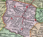 Harrison County Map Image