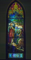 Image of the stained glass window