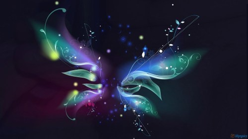 Download Abstract Butterfly Wallpaper
