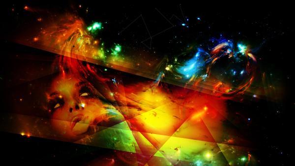 Hd Abstract Art Desktop Wallpaper