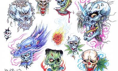 Tattoo Flash Pic