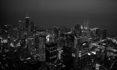 Wallpaper City Black And White Hd For Iphone