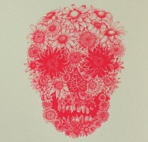 Flower Skull Pics