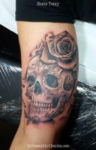 Flower Skull Pictures Get