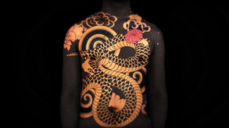 dragon tattoos wallpaper