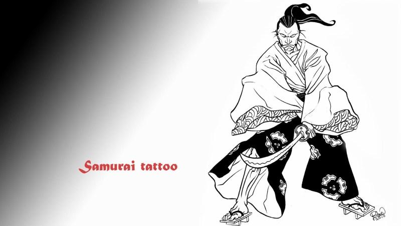 Samurai tattoo hd wallpaper