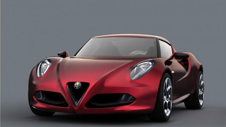 alfa romeo 4c concept car wallpaper