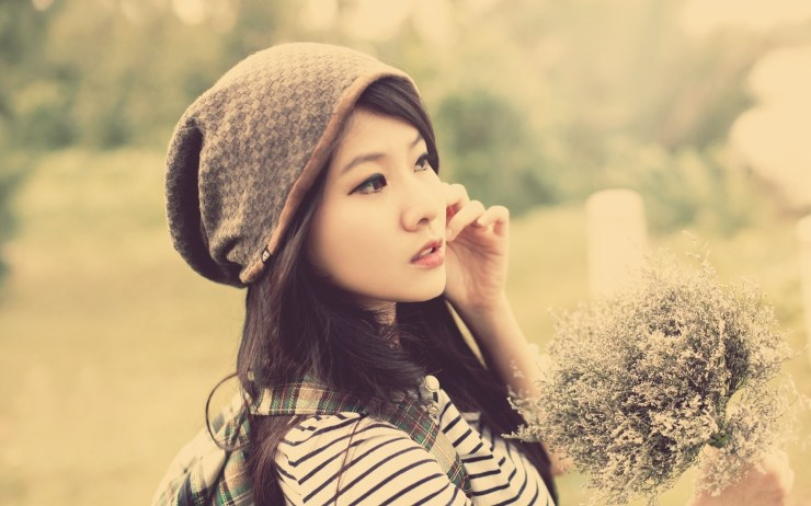 asian girl wallpapers