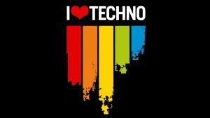 techno music wallpaper