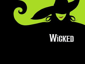 wicked musical wallpaper