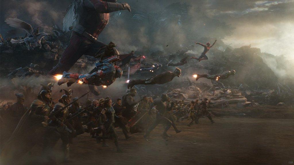 Avengers Fight Scene Wallpaper