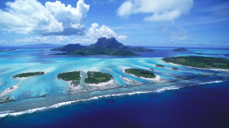 bora bora island wallpaper