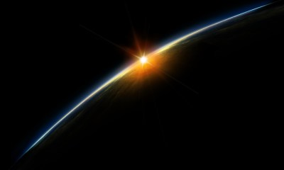 Sunrise in space wallpaper Desktop 1920p Photos