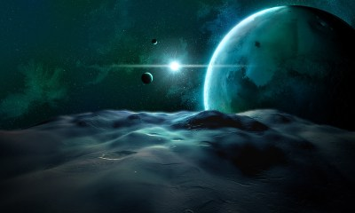 animated space wallpaper