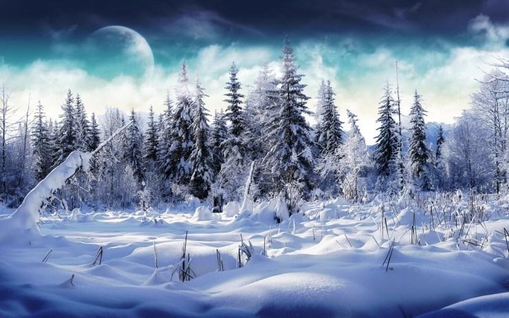 3d winter wallpaper