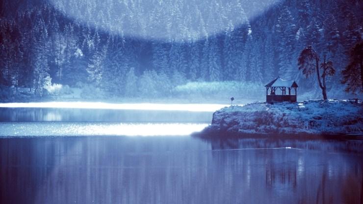 Frozen lake winter wallpaper windows desktop 1920p