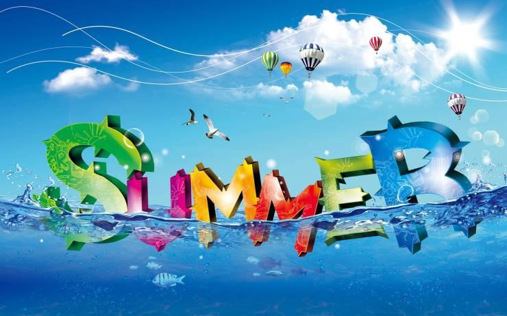 HD Summer desktop wallpaper smartphone desktop 1920p