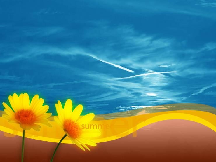 HD Summer images for wallpaper smartphone desktop 1600p