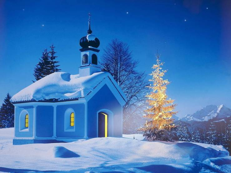 HD Winter animated wallpaper android, Pc Desktop 1024p