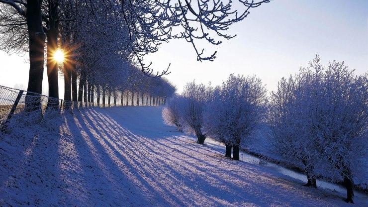 free desktop wallpaper winter