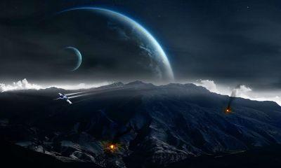 space plane wallpaper