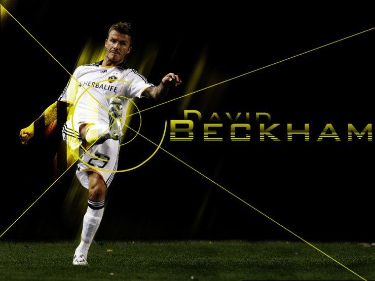 David Beckham Soccer Wallpaper for computers desktop screens