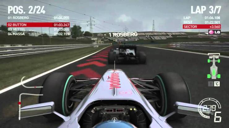 F1 2010 for android, Tablet, Laptops