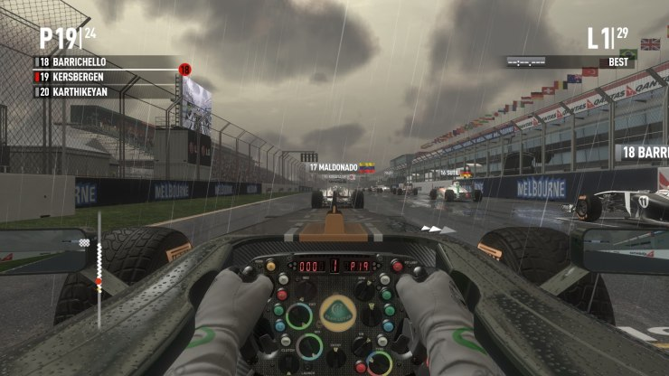 F1 2011 Game for android, Tablet, Laptops