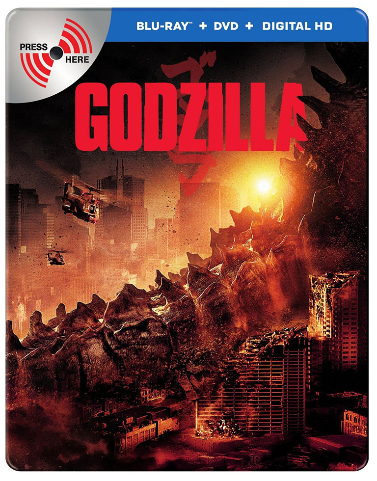 Godzilla 2014 now available for preorder on Bluray