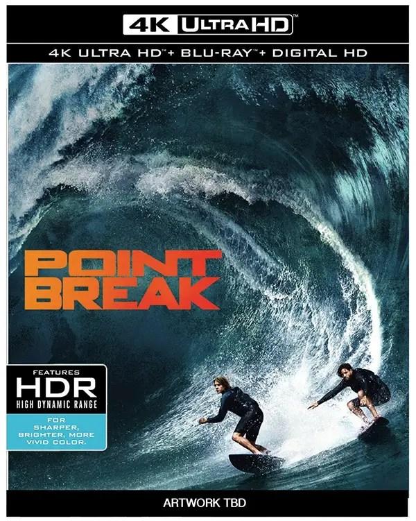Point Break 2015 4k Ultra HD Bluray Release Date