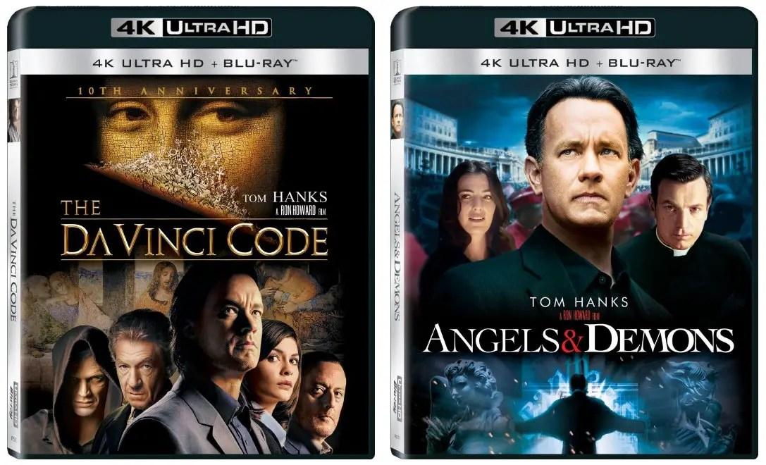 The Da Vinci Code  Angels  Demons Releasing To 4k Blu